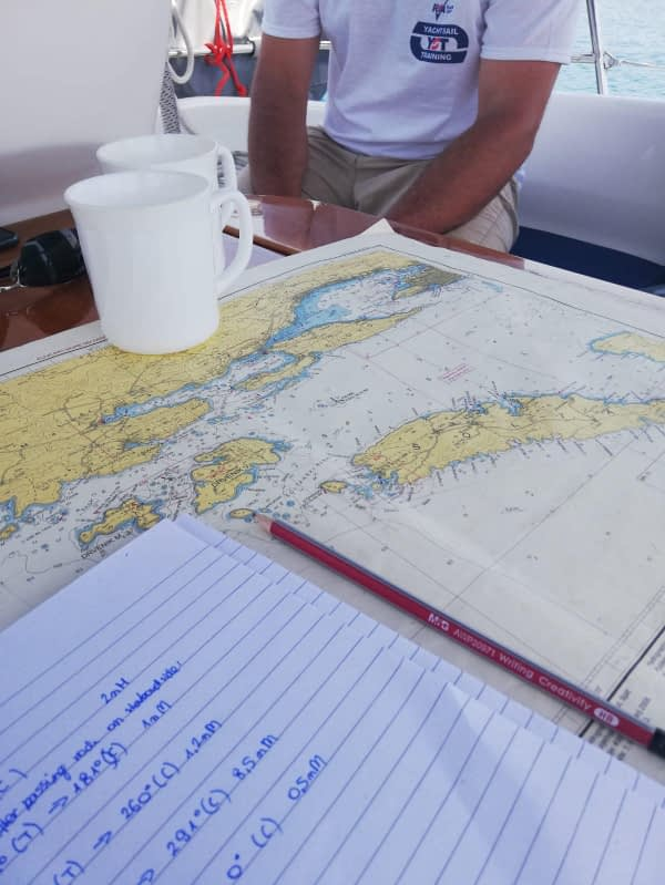 RYA Coastal Skipper Fast Track Course With Online Theory