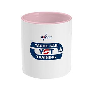 Yacht Sail Training Two Tone Office Mug Sailing Gift