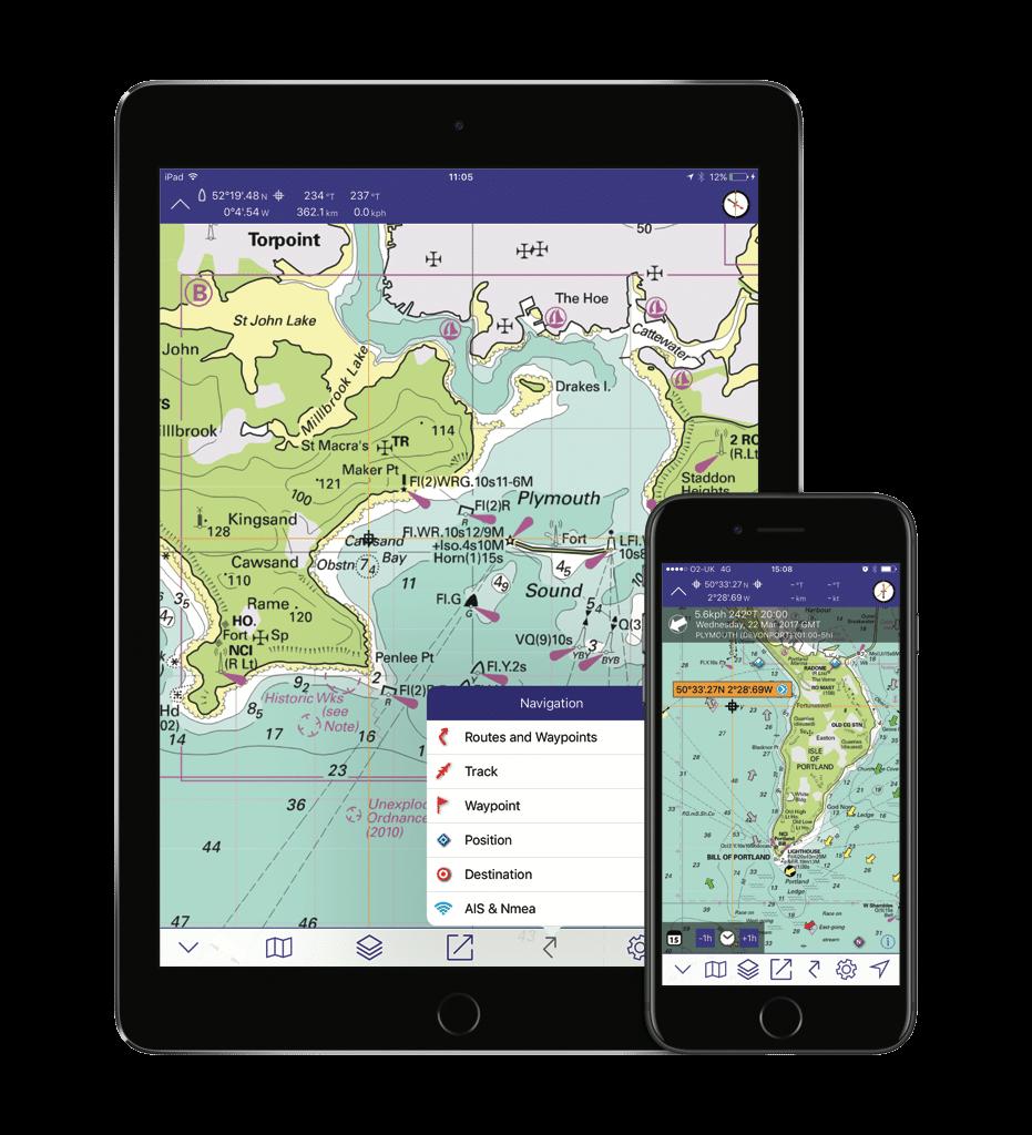 Imray charts Apps