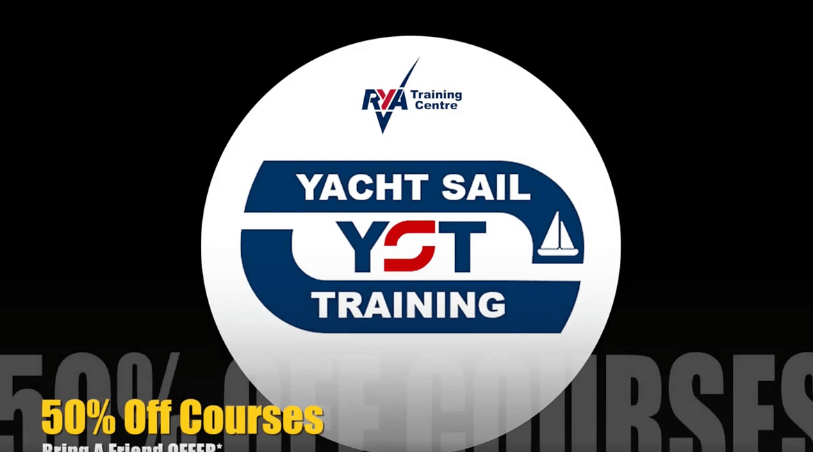 #learntosail 50% off rya courses