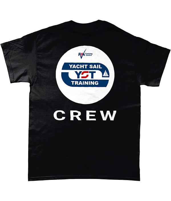 """Crew"" T-Shirt Heavy Cotton Yacht Sail Training"