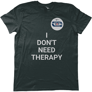 """Yacht Sail Training """"I don't need therapy-i just need a boat"""" Anvil Fashion men's T-Shirt"""