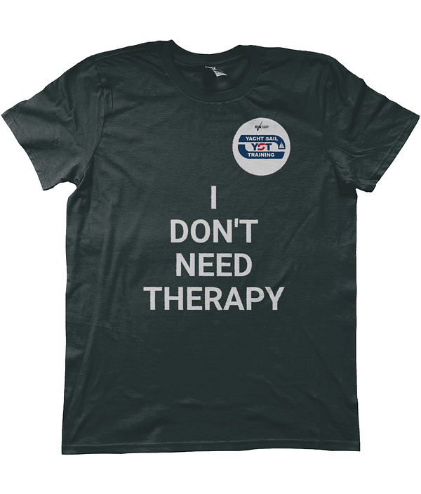 "Yacht Sail Training ""I don't need therapy-i just need a boat"" Anvil Fashion men's T-Shirt"
