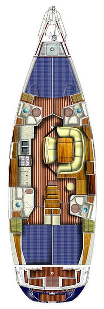 sun odyssey internal layout yacht sail training