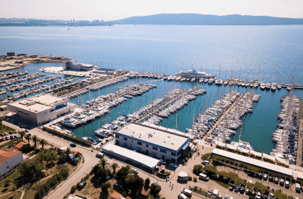 marinas croatia yacht sail training