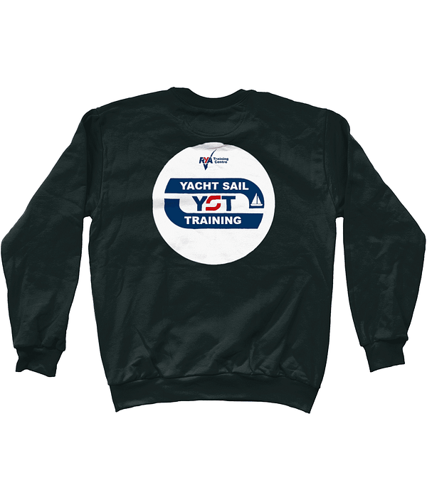 Drop Shoulder Women's Sweatshirt RYA Yacht Sail Training Anvil Fashion