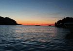 Lovely Evening Sunset In Croatia Over Cavtat Port - Sunset Over Cavtat Port