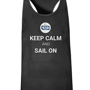 "Men's Gym Vest ""KEEP CALM AND SAIL ON"" & ""BORN TO SAIL"""