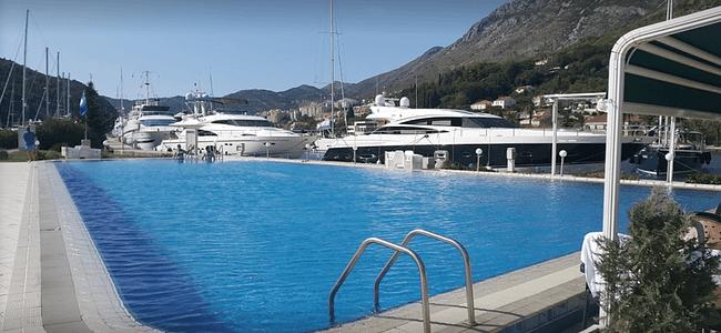 Public Marina Pool at Aci Marina In Dubrovnik