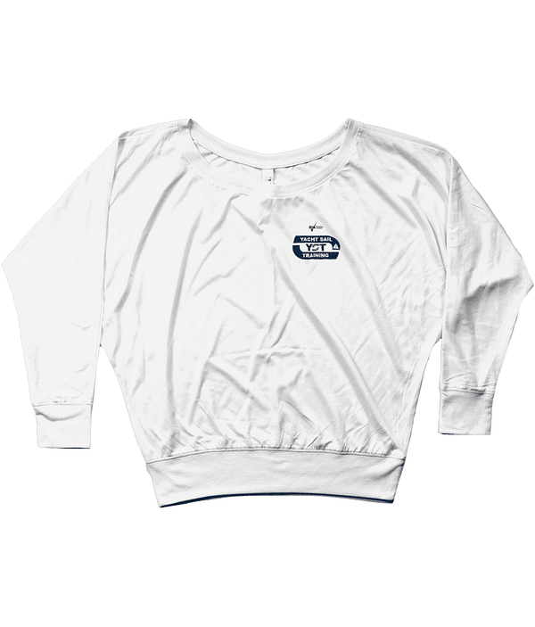 """Ladies """"SAILING IS NOT A HOBBY ITS A LIFESTYLE"""" Bella Flowy Long Sleeve T-Shirt"""