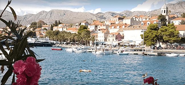 Port Near Dubrovnik Cavtat