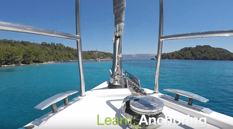 Sailing school, learn to sail