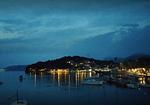 Cavtat Port By Night - Nighttime in cavtat Port