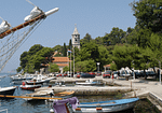 Cavtat Boats Moored - Boats Moored in Cavtat Port Croatia