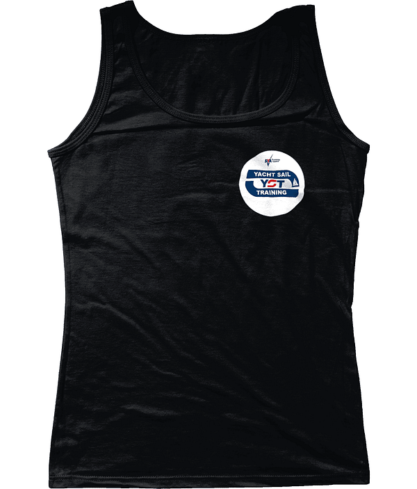 Ladies SoftStyle® Tank Top Circular RYA Yacht Sail Training Branded Gildan Vest