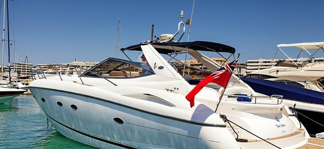 Sunseeker Charter Hire In Ibiza   Yacht Charter   Charter Sunseeker Portofino 49 in Ibiza   Motor Yacht Charter   Yacht Sail Training Free Classified Ads