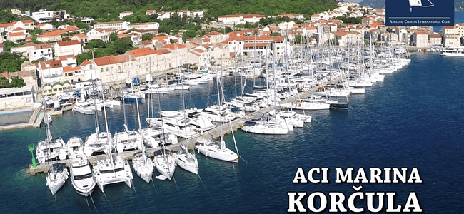 Set at the foot of Korcula Town In Croatia